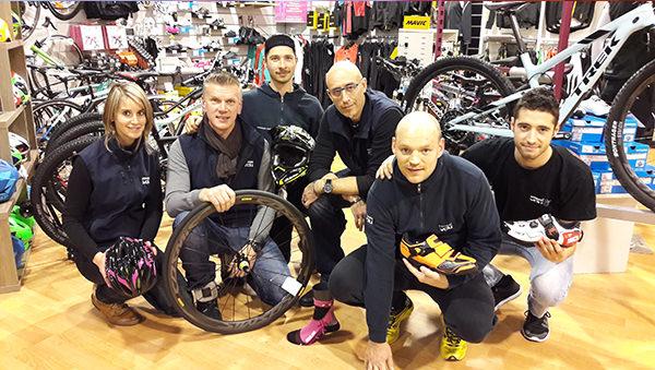 Laura, Florent, Jeremy, Benoit, Alex & Guillaume