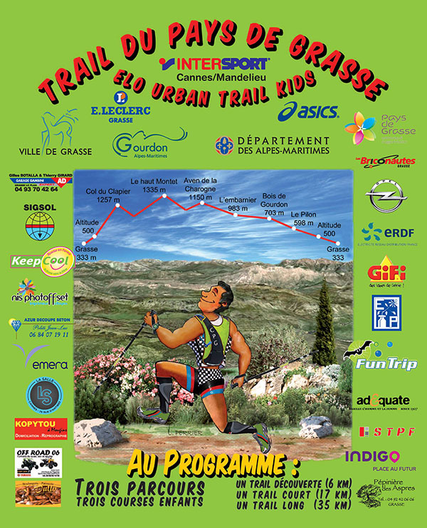 Trail du pays de grasse